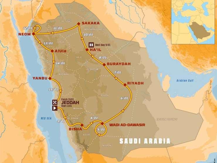Inizia la Dakar 2021