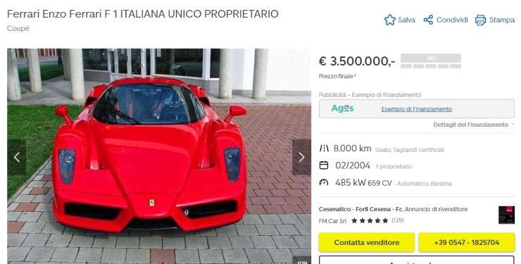 Ferrari Enzo Ferrari F1