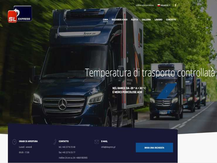 Home page sito sl express