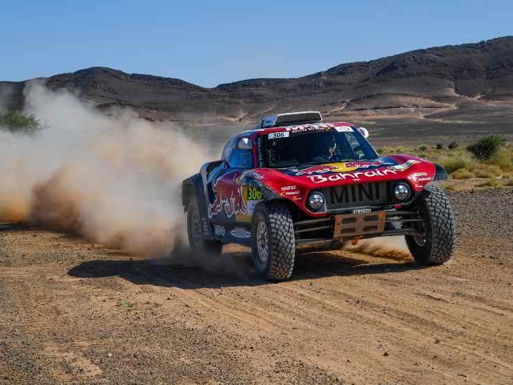 mini jcw buggy Dakar