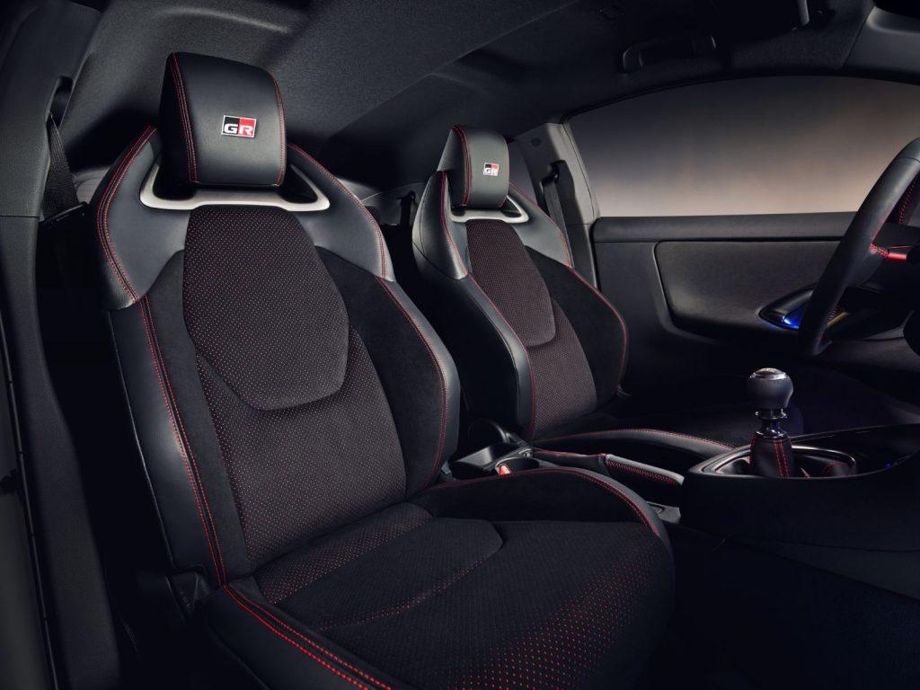 Interni Toyota Yaris GR