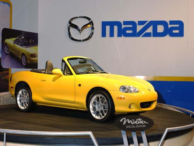 Mazda mx-5 la piu venduta