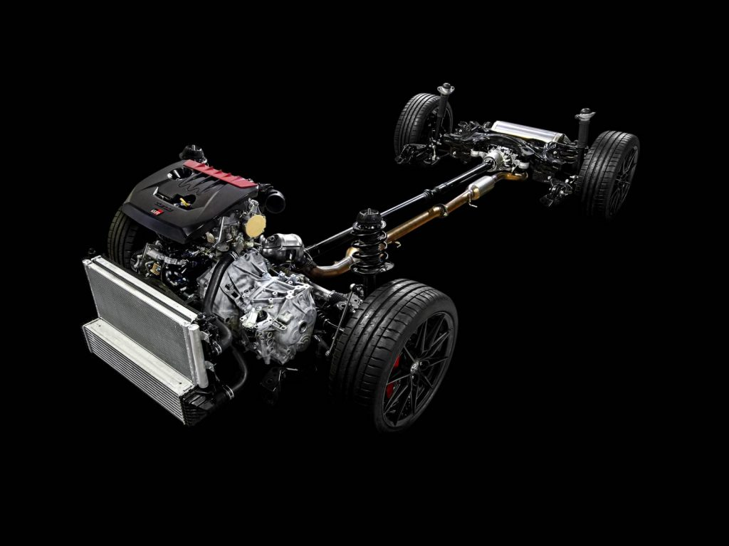 Chassis Toyota Yaris GR
