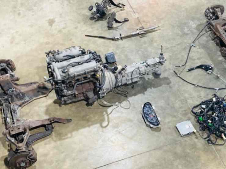 costruire auto in garage fai da te