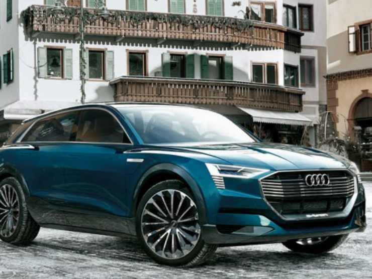 Audi E-Tron Cortina by Enel