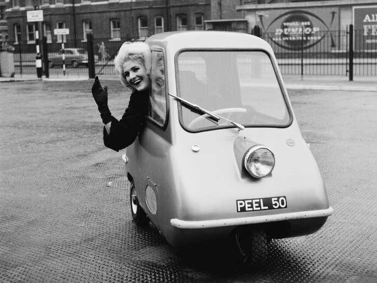 auto piu piccola del mondo
