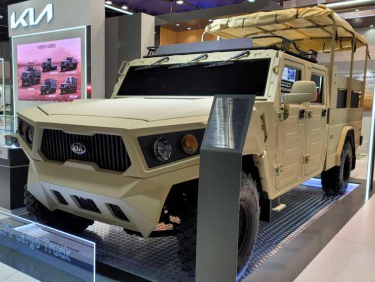 Light Tactical Cargo Truck