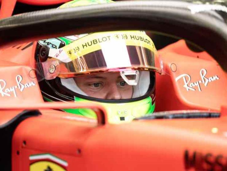 Mick Schumacher test