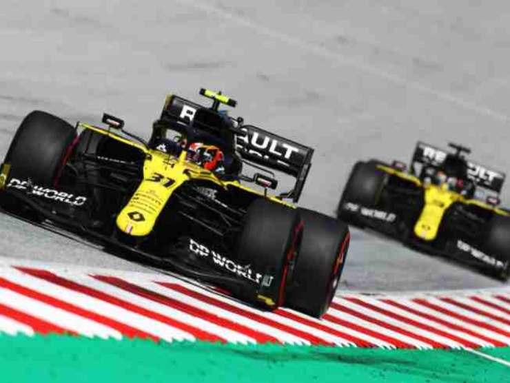 Ocon e Ricciardo piloti Renault