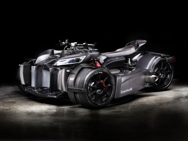 quad motore maserati