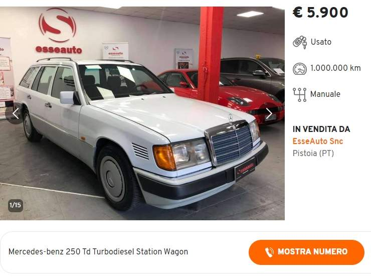 Mercedes E250 TD SW