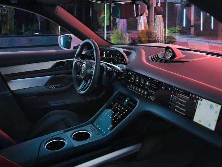 Porsche tycan 4 Cross Turismo