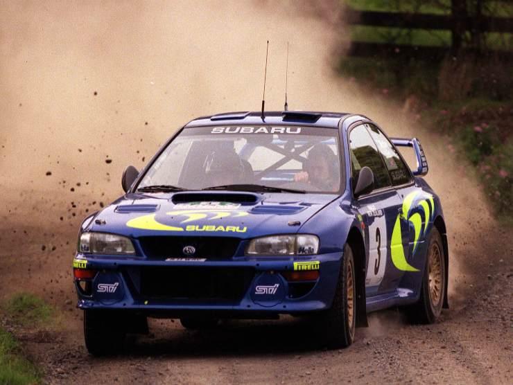 Rally McRae Subaru