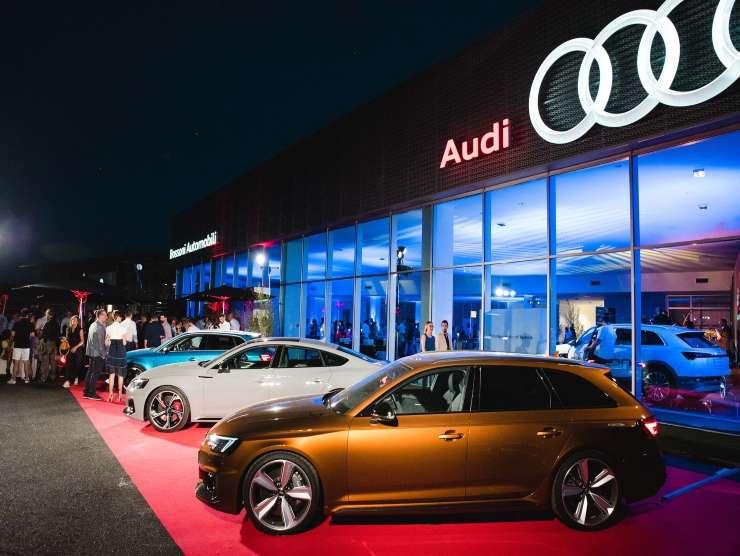 Audi ricariche elettriche a domicilio