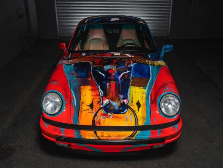porsche 911 art car
