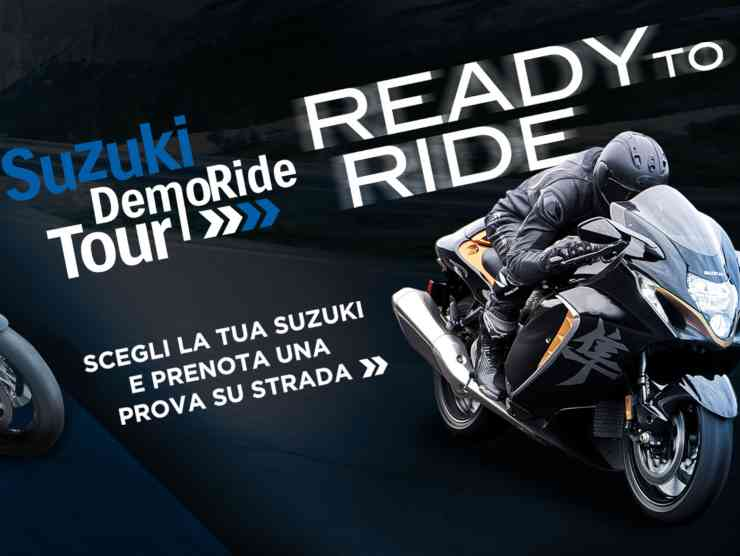 suzuki demo tour ride