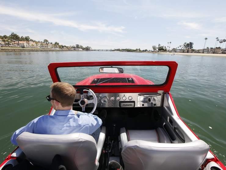 Interni automobile barca