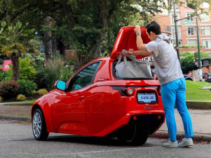 city car elettrica