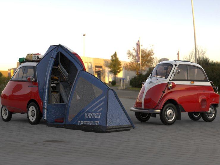 Microlino Camper Concept