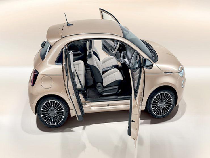 Fiat 500 elettrica maggio 2021