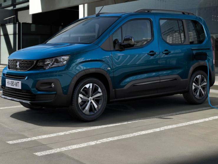 Peugeot e-Rifter 2021 elettrica