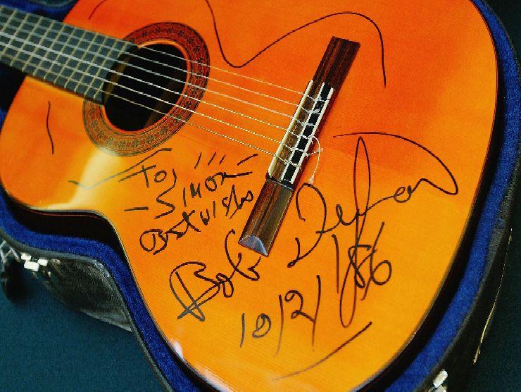 Bob Dylan chitarra