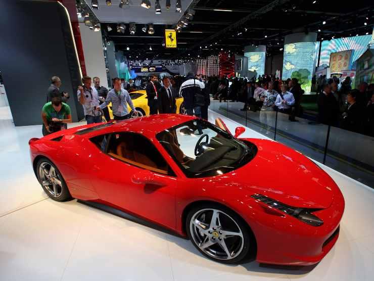 Enock Balotelli Ferrari 458