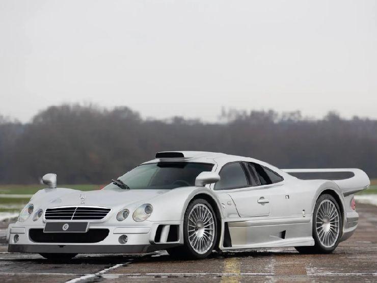 Mercedes CLK-GTR 2