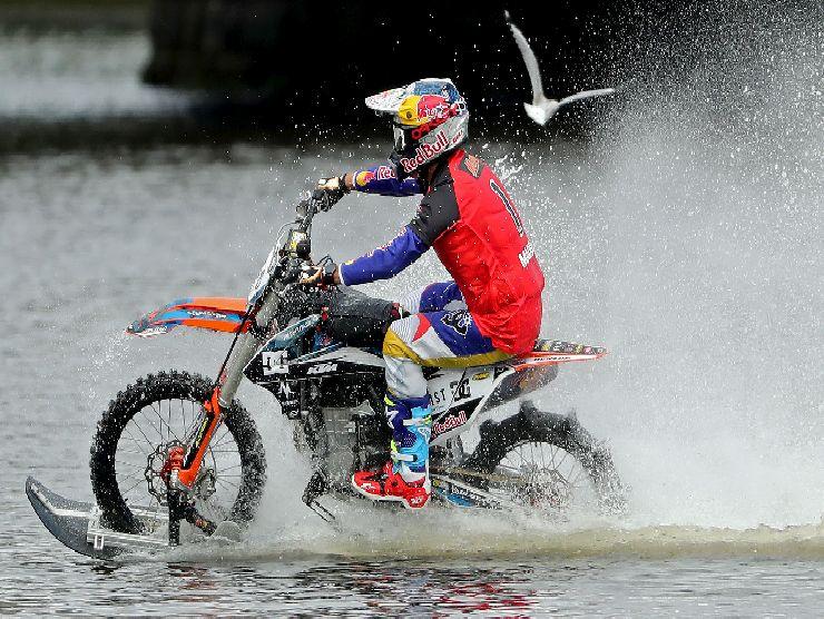 Motocross acqua