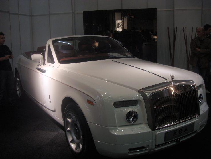 Rolls Royce Phantom auto rapper