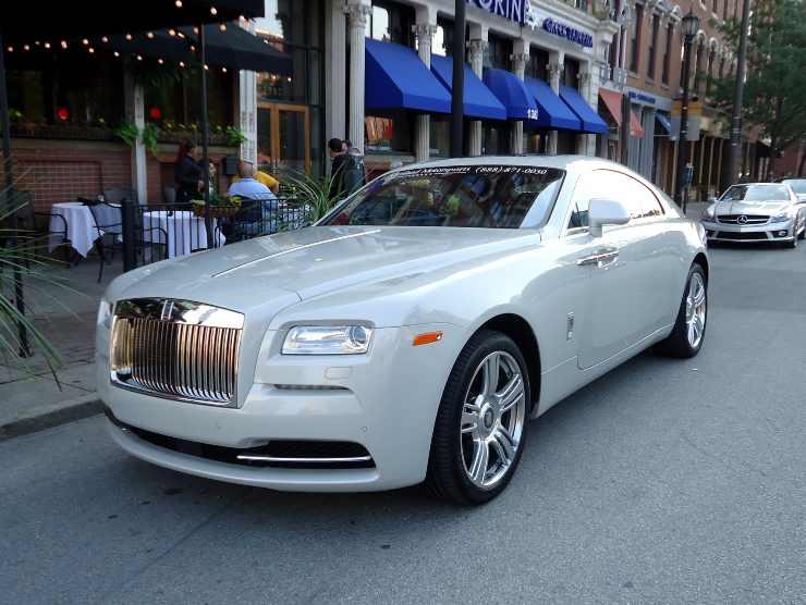 Rolls-Royce Wraith auto Lukaku