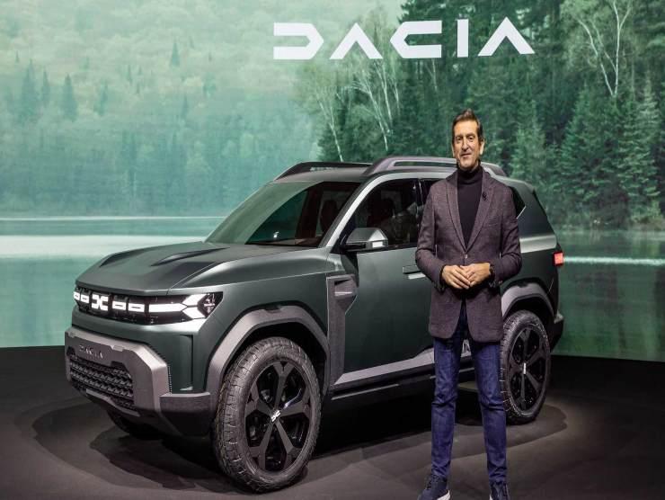 Dacia Bigster elettrica