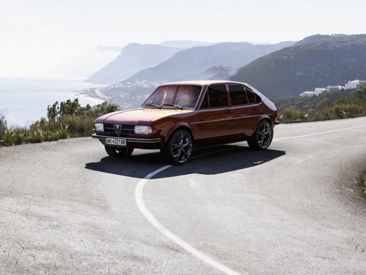 Alfa Romeo Alfasud render