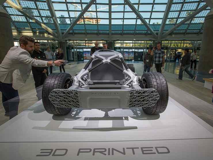 auto stampa 3d