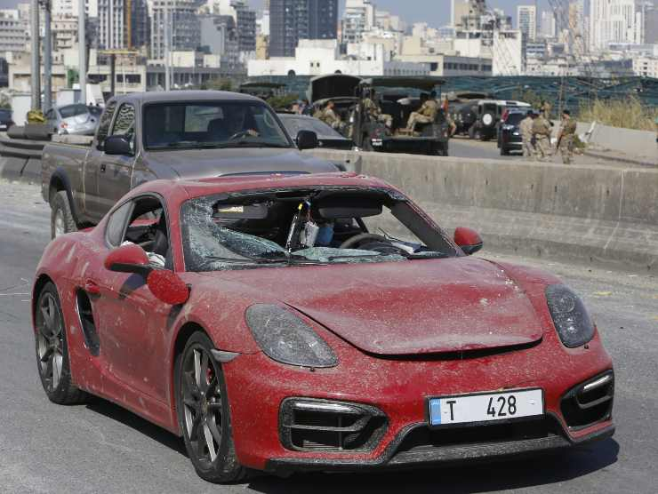 Supercar distrutta (Getty Images)