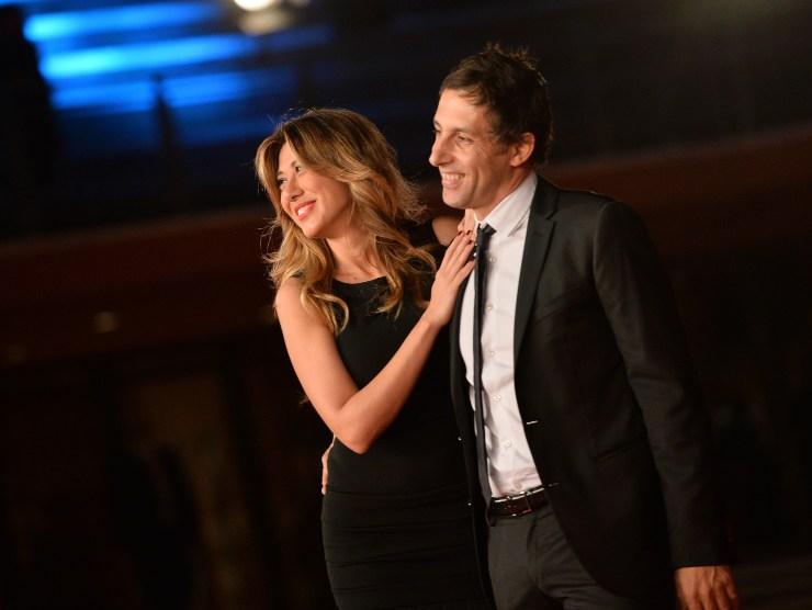 Virginia Raffaele e Ubaldo Pantani (Getty Images)