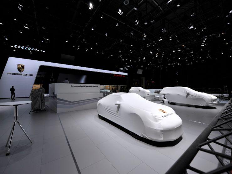 Presentazione Porsche
