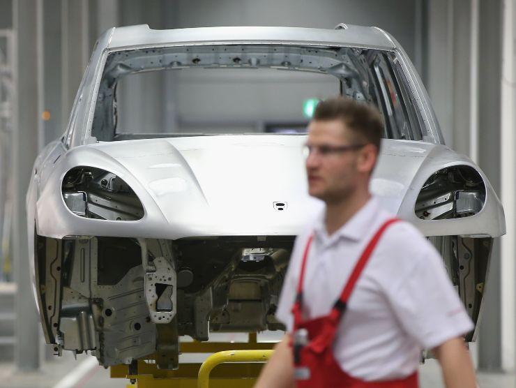 Produzione Porsche Macan