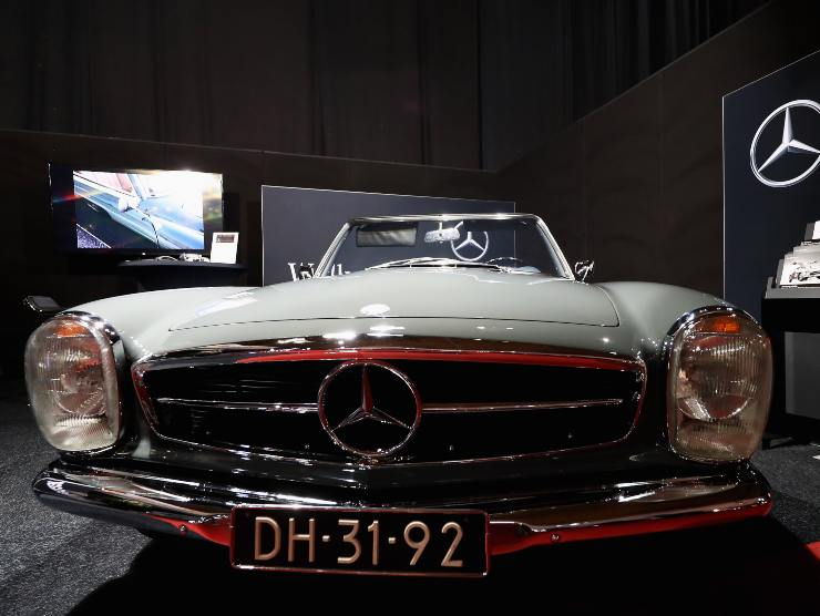 """Mercedes """"Pagoda"""" (Getty Images)"""