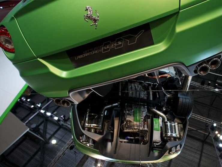 Sistema HY-KERS Ferrari (Getty Images)