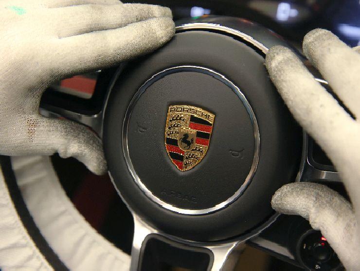 Porsche marchio