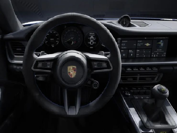 Porsche 911 GT3 interni