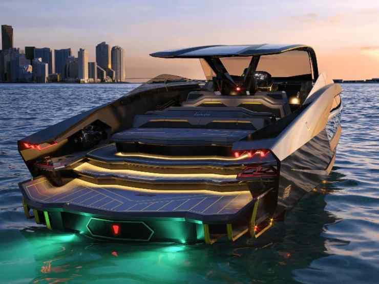 yacht lamborghini