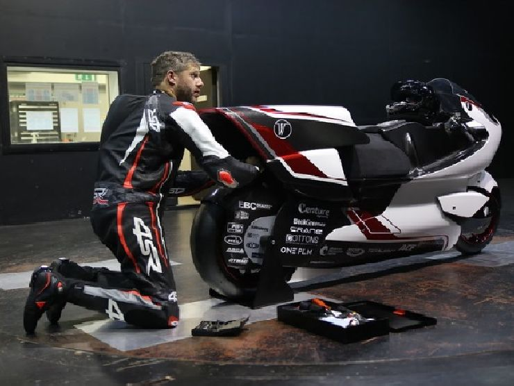 White Motorcycle Concepts moto 2