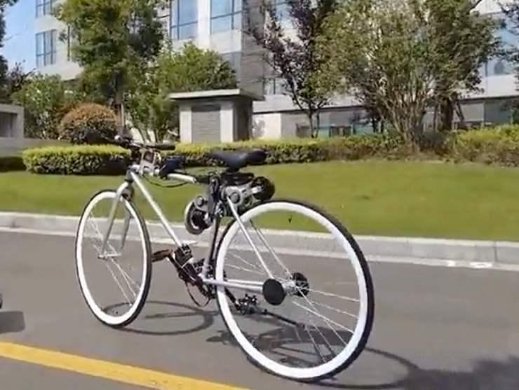 Bici guida autonoma