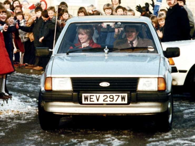 Ford Escort Ghia Lady Diana