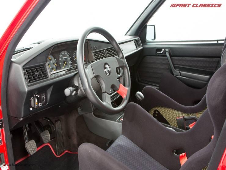 Interni Mercedes 190 E Brabus (Fast Classic)
