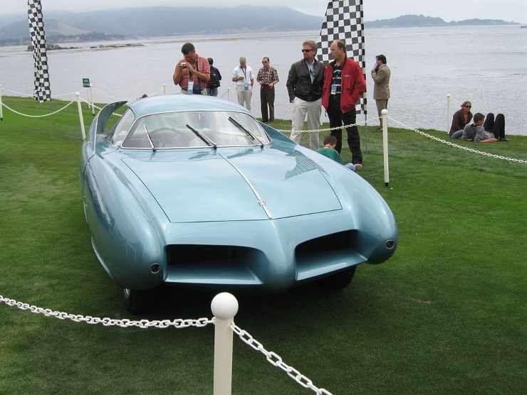 L'Alfa Romeo B.A.T. 7 del 1954