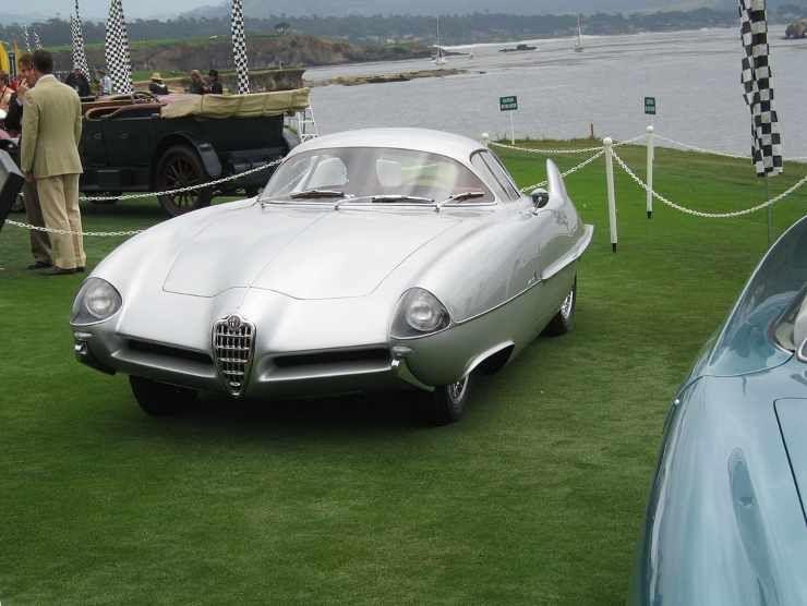 L'Alfa Romeo B.A.T. 5 del 1953