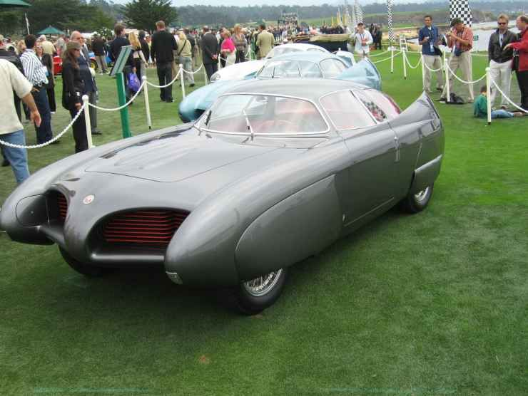 L'Alfa Romeo B.A.T. 9 del 1955